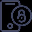 Blocked Mobile Smartphone Icon