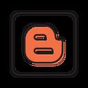 Blog Blogger Web Icon