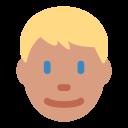 Blond Medium Light Icon