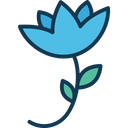 Blooming Blooming Flower Ecology Icon