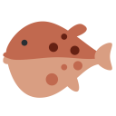 Blowfish Fish Sea Icon