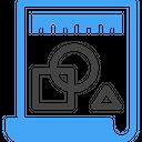 Blueprint Plan Prototype Icon