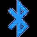 Bluetooth B Technology Logo Social Media Logo Icon