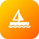 Boat Ship Seiling Icon
