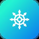 Boat Wheel Rudder Icon