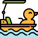 Boat Duck Icon