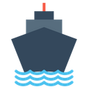 Boat Logistic Transportation Icon
