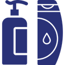 Body Wash Foam Dispenser Hair Gel Icon