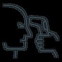 Body Temperature Scanner Icon
