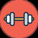 Bodybuilding Dumbbell Exercise Icon