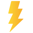 Bolt Thunder Electricity Icon