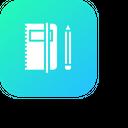 Book Folder Pen Icon