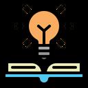 Light Book Idea Icon