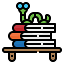 Book Shelf Worm Icon