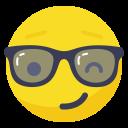 Boss Fun Glasses Icon