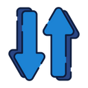 Both Directions Up Down Icon