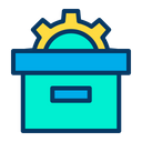 Product Management Box Setting Icon