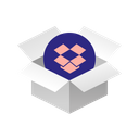 Box Dropbox Icon