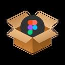 Figma Isometric Box Icon