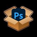 Photoshop Isometric Box Icon