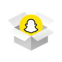 Box Snapchat Icon