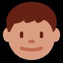 Boy Blond Medium Icon