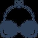 Bra Brassiere Ladies Undergarment Icon