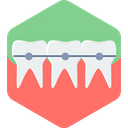 Braces Teeth Dentist Icon