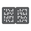 Braille Book Disability Icon