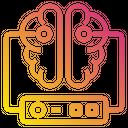 Brain Server Data Icon