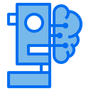 Brain Storage Technology Icon