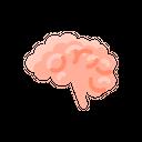 Brain Neuroscience Brainstorming Icon