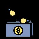 Brain Storming Idea Income Icon