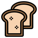 Bread Toast Loaf Icon