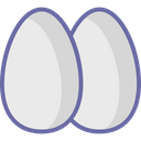 Breakfast Eggs Food Icon