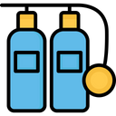 Breathing Gas Icon