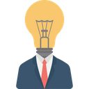 Bright Idea Creative Idea Genius Icon