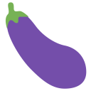 Bringle Eggplant Aubergine Icon
