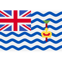 British Indian Ocean Territory Map Location Icon