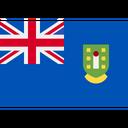 British Virgin Islands American Hexagon Icon