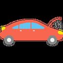 Broken Car Icon
