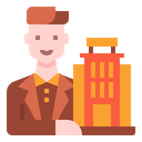 Manager Man User Icon