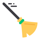 Broom Magic Witch Icon