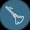 Broom Magic Witch Icon