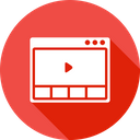 Browser Application Video Icon