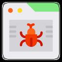 Virus Programming Browser Icon