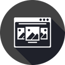 Browser Webpage Window Icon
