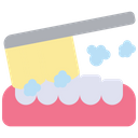 Brushing Teeth Toothbrush Cleaning Teeth Icon