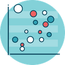 Bubble Chart Infographic Chart Icon