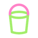 Bucket Cleaning Tool Icon